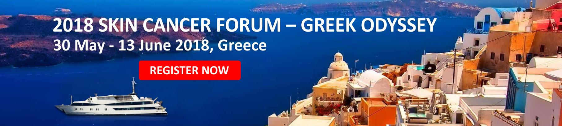 2018 Skin Cancer Forum - Greek Odyssey