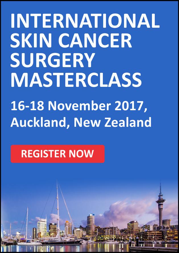 2017 New Zealand Skin Cancer Surgery Masterclass
